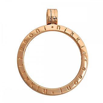 Nikki Lissoni Medium Gold Plated Pendant P02GM