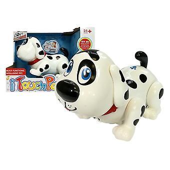 Speelgoed hond Dalmatiër op batterijen - 27x20x15,5 cm