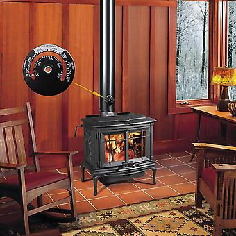 Thermometer Wood Log Burning Stove, Pipe Fire, Flue Heater
