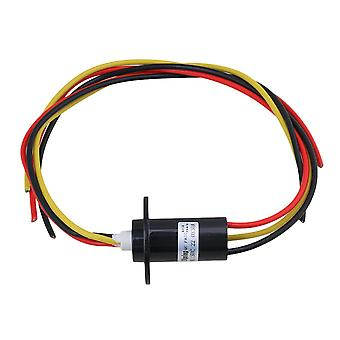 30A 240V 250rpm 3-way Conductors Circuits Slip Ring for Test Equipment