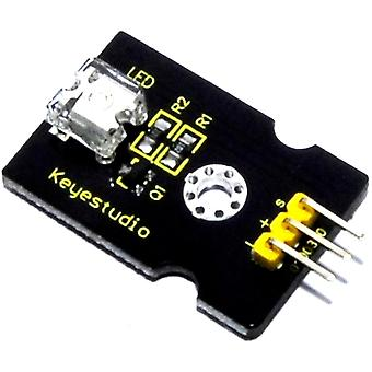Keyestudio 8mm Yellow LED Module