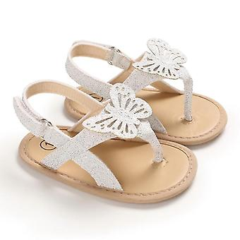 Infant Baby Girls Boys Shoes Bling Bling Butterfly Causal Summer Soft Sandals