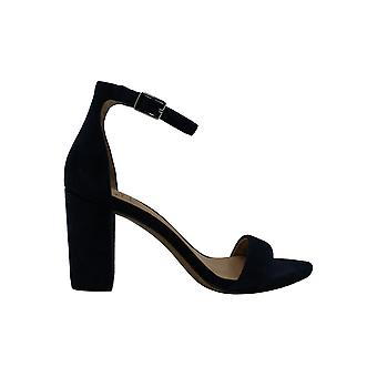INC International Concepts Women-apos;s Shoes Kivah Suede Peep Toe Casual Ankle St...