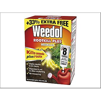 Miracle Weedol Rootkill Plus 6 Tubes + 2 Free of Charge