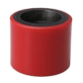 70x60mm Pallet Jack Truck Load Roller Wheel Polyurethane Load Wheel Red