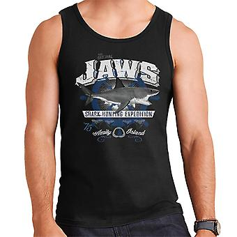 Jaws Shark Hunting Expedition Amity Island Men's Vest