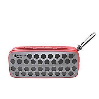Kannettava langaton ulkoinen bluetooth-kaiutin IPX4 Vedenpitävä FM Radio TF -kortti
