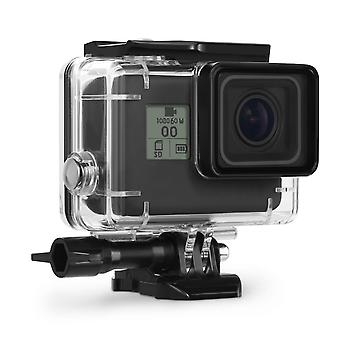 Kupton housing case for gopro hero7/(2018) 6/5 waterproof case diving protective housing shell 45m w