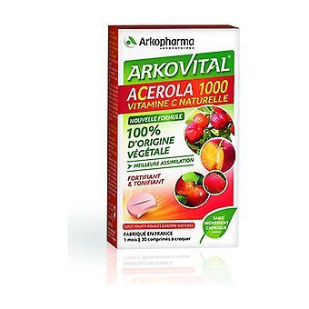 Acerola 1000 Chewable 30 tablets