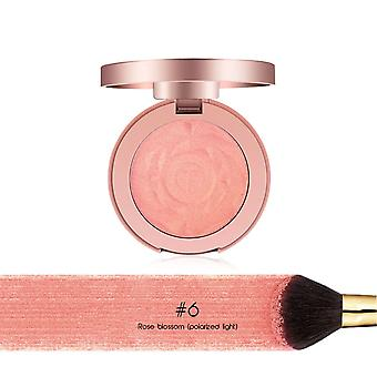 Kasvot Blusher Powder, Rouge Meikki Cheek Powder Minerals Paletit