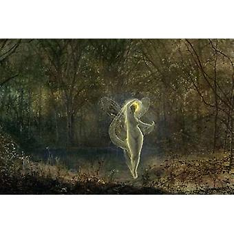 Autumn Dame Autumn Hath a Mournful Face Poster Print by  John Atkinson Grimshaw