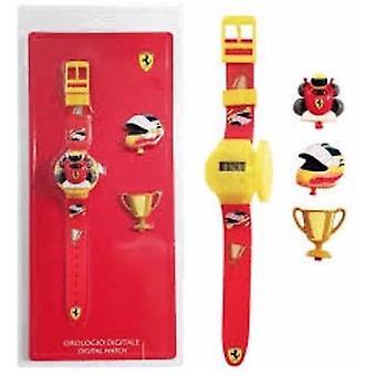 Scuderia ferrari horloge kid kit - verwisselbare top 810004