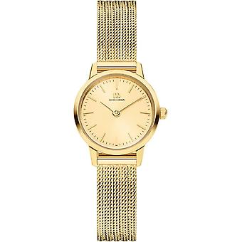 Deens design Akilia Mini Horloge - Goud