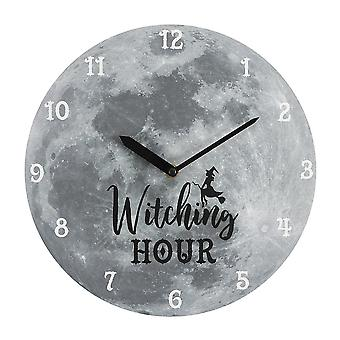 Something Different Witching Hour Moon Wall Clock