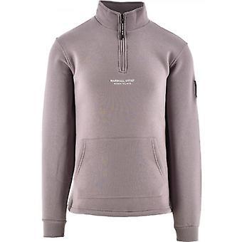 Marshall Artist Purple Siren Half Zip 420 Sweatshirt