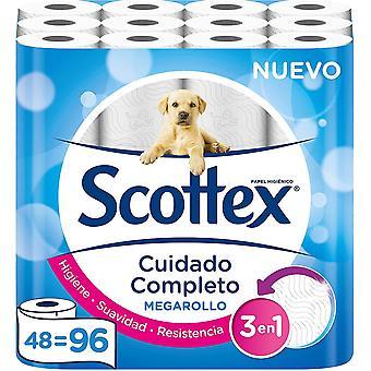 Scottex megarollo Toilet Paper–48Rolls (Packaging may vary)