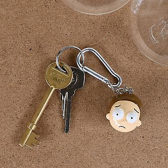 Rick And Morty Morty 3D Keyring