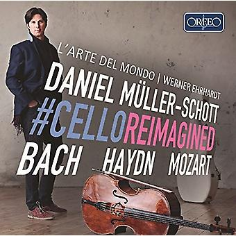Bach, C.P.E / Mondo / Erhadt - Celloreimagined [CD] USA import