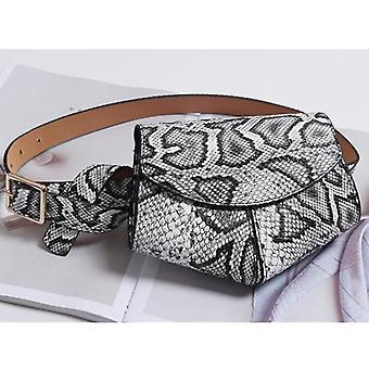 Pu Leather Waist Belt Bag / Mini Disco Waist Pack Luxury Handbags / Designer