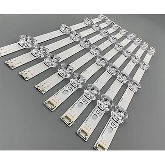 רצועת עדשות מנורה אחורית LED עבור צג LCD