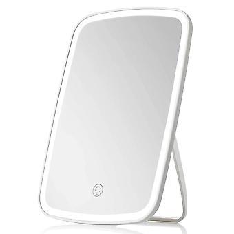 Makeup Mirror Touch Screen Vanity Mirror med LED-ljusstyrka justerbar bärbar