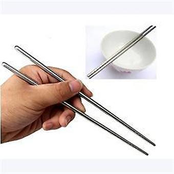 Stainless Steel Chopsticks, Laser Engraving Patterns Food Sticks