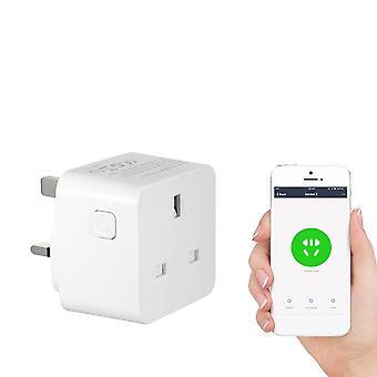 Ac 100-240v 13a älykäs wi-fi-pistokkeen ääniohjaus yhteensopiva alexa / google home
