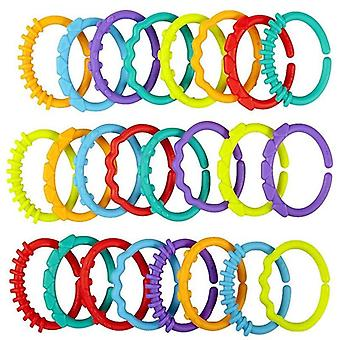 Teether Crib Bed Stroller Hanging Rattles Toy (24pcs)