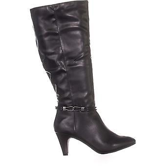 Karen Scott Womens Hollee weefsel WC amandel Teen Fashion knie hoge laarzen