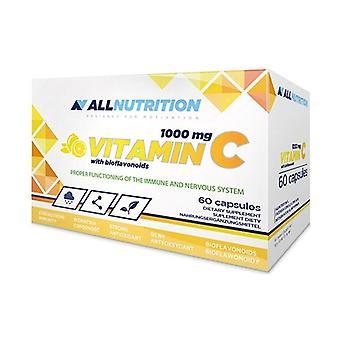 ビオフラボノイドのビタミンC、1000mg 60カプセル