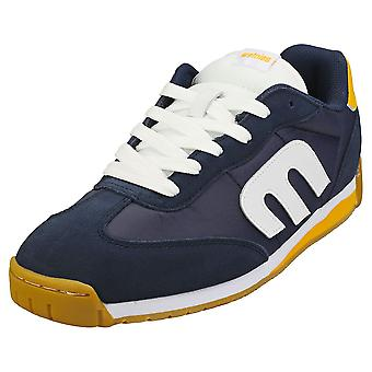Etnies Lo-cut Cb Mens Skate Trainers in Navy White Yellow