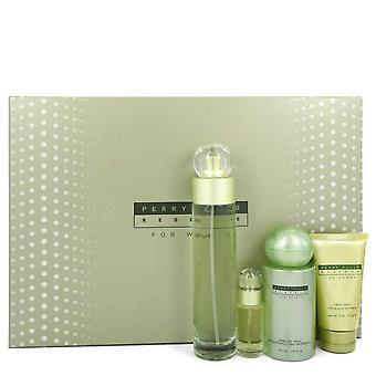 Perry Ellis reserve Gift Set door Perry Ellis 3,4 oz Eau de parfum spray + 4 oz Body mist + 2 oz hand crème + .25 oz Mini EDP spray