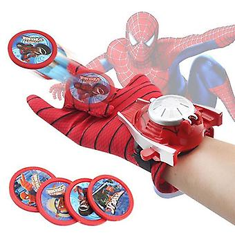 Spiderman Glove Action Figure Launcher Toy Kids