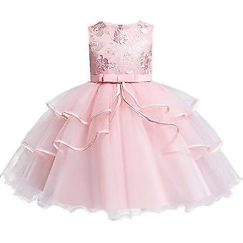 Flower Dress Elegant Princess Cekin dress sukienki dla dzieci na ubrania dla niemowląt