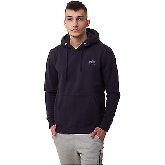 Alpha Industries Basic Hoody Small Logo 19631807 sweat-shirts pour hommes universels