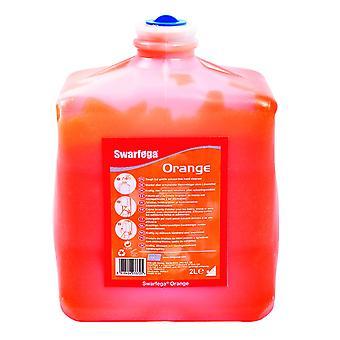 Deb Sor2Lt 2 Litre Swarfega Orange Cartridge