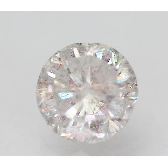 Zertifiziert 2.05 Karat G SI2 Round Brilliant Enhanced Natural Loose Diamond 7.88mm