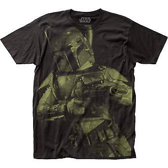 מלחמת הכוכבים בובה פט Blaster הרכבת התחתית הגדולה להדפיס חולצת טריקו