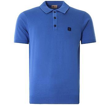 Gabicci Jackson Knitted Polo Shirt - Carolina