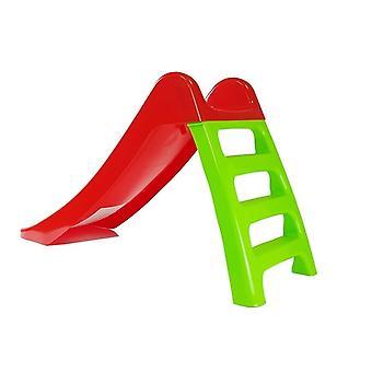 Glijbaan 67 cm met ladder - Rood groen
