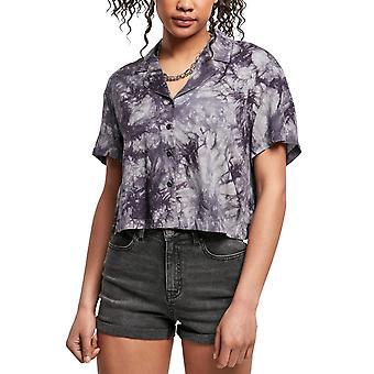 Urban Classics Ladies - Viscose Tie Dye Resort Koszula Hemd