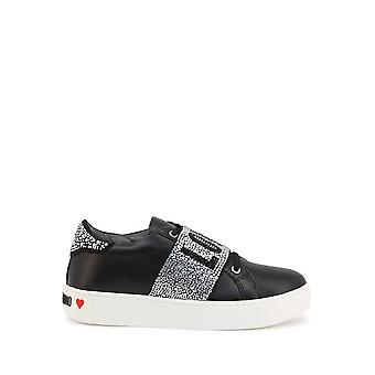 Love Moschino - Shoes - Sneakers - JA15103G1CIA0-000 - Women - black,silver - EU 37