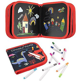 Drawing Pad For Kids Erasable Doodle Book Writing Board For Boys Girls