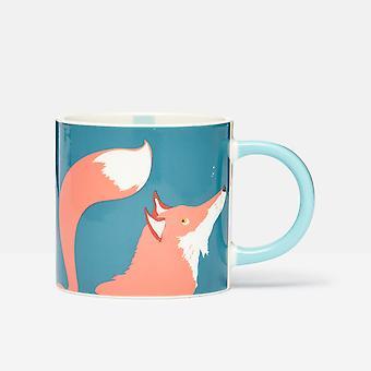 Joules Fox Teal Muki