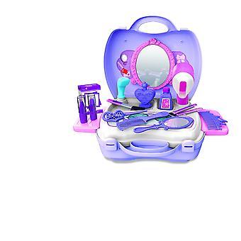 21Kpls lapset tytöt salonki lelut teeskennellä pelata meikki asettaa violetti lasten lahjoja