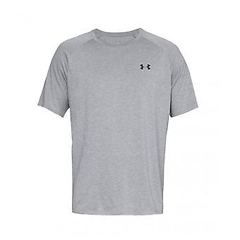 Under Armour Tech 2.0 Mens Short Sleeve Training T-Shirt Tee Grey