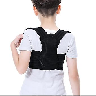 חגורת תיקון בלתי נראית נושמת יוניסקס, תיקון קיפוזיס לילדים חגורה אחורית az3979