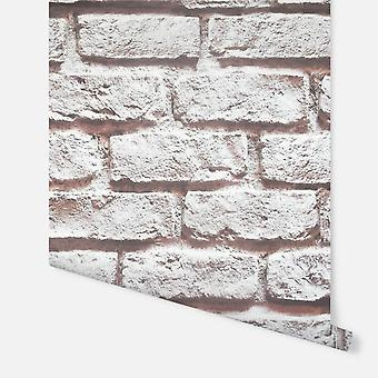 Arthouse Sunshine Brick Natural wallpaper