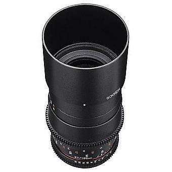 Rokinon cine ds 100mm t3.1 ed umc full frame telephoto macro cine lens for sony e mount (fe) interchangeable lens cameras