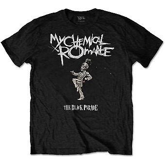 My Chemical Romance - The Black Parade Cover Unisex Large T-paita - Musta